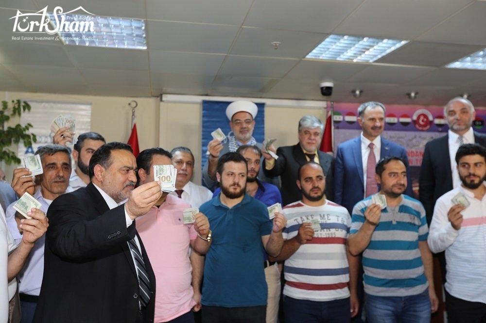 الجالية العربية بإسطنبول تدعو إلى دعم الليرة التركية