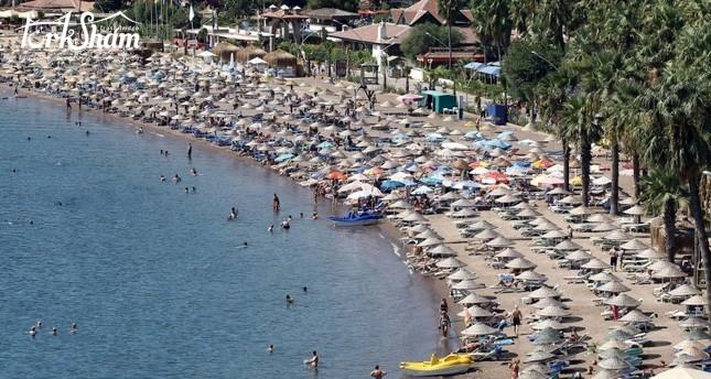 شواطئ موغلا التركية تستقبل أكثر من مليوني سائح أجنبي منذ مطلع العام