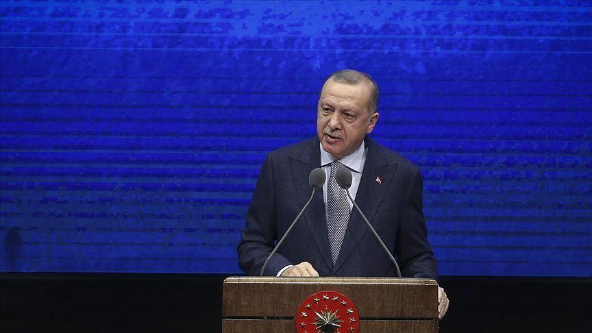 اردوغان يعرض محصلة 2019: نفتتح أبواب عهد جديد لنهضة تركيا