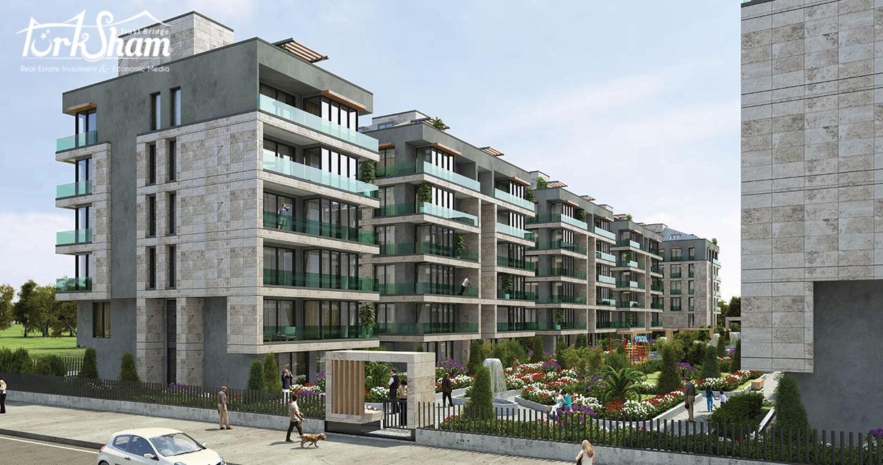 علان رقم 160: -  للباحثين عن الحياة والاستثمار المستقبلي نطرح لكم هذا المشروع المتميز؛ شقق بمساحات كبيرة للعائلات الكبيرة تصل إلى 375 متر مربع وهي نادرة في إسطنبول.