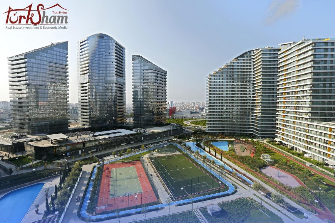 إعلان رقم 158  مجمع سكني استثماري فاخر